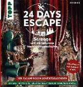 Cover-Bild zu 24 DAYS ESCAPE - Der Escape Room Adventskalender: Scrooge und die verlorene Weihnachtsgeschichte von Zhang, Yoda