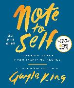 Cover-Bild zu King, Gayle: Note to Self