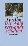 Cover-Bild zu Goethe, Johann Wolfgang: Die Wahlverwandtschaften