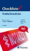 Cover-Bild zu Checkliste Notfallmedizin von Secchi, Andreas
