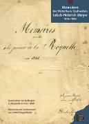 Cover-Bild zu Stadtbibliothek Winterthur (Hrsg.): Memoiren des Winterthurer Stadtratsweibels Jakob Heinrich Meyer 1814-1894