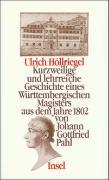 Cover-Bild zu Pahl, Johann Gottfried: Ulrich Höllriegel