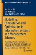 Cover-Bild zu Modelling, Computation and Optimization in Information Systems and Management Sciences von Le Thi, Hoai An (Hrsg.)