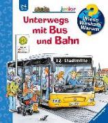Cover-Bild zu Unterwegs mit Bus und Bahn von Erne, Andrea