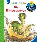 Cover-Bild zu Die Dinosaurier von Weinhold, Angela