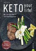 Cover-Bild zu Keto your life! von Faerber, Jane