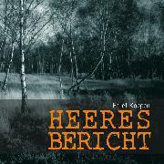 Cover-Bild zu Heeresbericht (Audio Download) von Köppen, Edlef