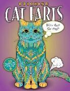 Cover-Bild zu Coloring Cat Farts: A Funny and Irreverent Coloring Book for Cat Lovers (for all ages) von Topix Media Lab (Hrsg.)