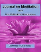 Cover-Bild zu Journal de meditation pour une reflexion quotidienne (eBook) von Baiesi, Jack