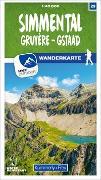 Cover-Bild zu Hallwag Kümmerly+Frey AG (Hrsg.): Simmental / Gruyère - Gstaad 29 Wanderkarte 1:40 000 matt laminiert. 1:40'000