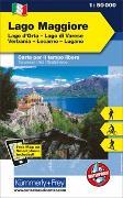 Cover-Bild zu Hallwag Kümmerly+Frey AG (Hrsg.): Lago Maggiore, Lago d'Orta, Lago Varese, Verbania, Locarno, Lugano. 1:50'000