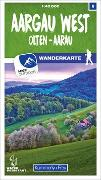 Cover-Bild zu Hallwag Kümmerly+Frey AG (Hrsg.): Aargau West 06 Wanderkarte 1:40 000 matt laminiert. 1:40'000