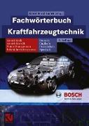 Cover-Bild zu GmbH, Robert Bosch: Fachwörterbuch Kraftfahrzeugtechnik