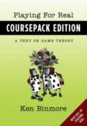 Cover-Bild zu Playing for Real, Coursepack Edition: A Text on Game Theory (eBook) von Binmore, Ken