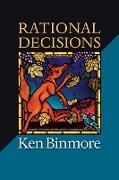 Cover-Bild zu Rational Decisions von Binmore, Ken
