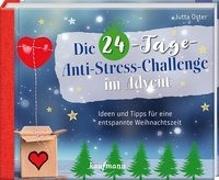 Cover-Bild zu Die 24-Tage-Anti-Stress-Challenge im Advent von Oster, Jutta