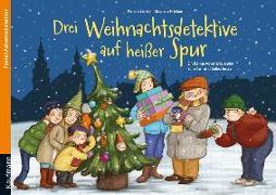 Cover-Bild zu Drei Weihnachtsdetektive auf heißer Spur von Lückel, Kristin