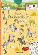 Cover-Bild zu Mein Stickeralbum Pferde von Lückel, Kristin