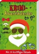 Cover-Bild zu Krimi-Adventskalender to go von Lückel, Kristin