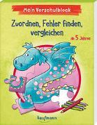 Cover-Bild zu Mein Vorschulblock - Zuordnen, Fehler finden, vergleichen von Lückel, Kristin
