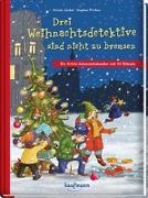 Cover-Bild zu Drei Weihnachtsdetektive sind nicht zu bremsen von Lückel, Kristin