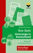 Cover-Bild zu Das Quiz - Unterwegs in Deutschland von Jasper, Bettina M.