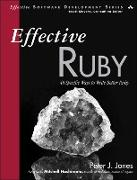 Cover-Bild zu Effective Ruby (eBook) von Jones, Peter