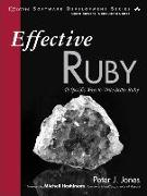 Cover-Bild zu Effective Ruby von Jones, Peter J.