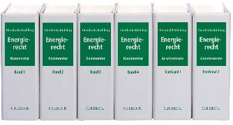 Cover-Bild zu Energierecht - Energierecht von Ahnis, Erik (Weitere Bearb.)