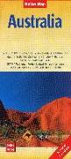 Cover-Bild zu Nelles Map Landkarte Australia. 1:4'500'000 von Nelles Verlag (Hrsg.)
