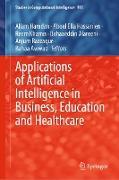 Cover-Bild zu Applications of Artificial Intelligence in Business, Education and Healthcare (eBook) von Hamdan, Allam (Hrsg.)