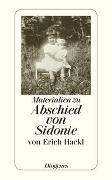 Cover-Bild zu Hackl, Erich: Materialien zu Abschied von Sidonie