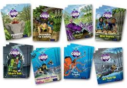Cover-Bild zu Project X Code: Jungle Trail & Shark Dive Class Pack of 24 von Bradman, Tony