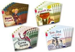 Cover-Bild zu Oxford Reading Tree Traditional Tales: Level 4: Class Pack of 24 von Hughes, Monica