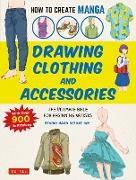 Cover-Bild zu How to Create Manga: Drawing Clothing and Accessories (eBook) von Studio Hard Deluxe Inc.