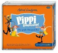 Cover-Bild zu Pippi Langstrumpf. Die grosse Hörspielbox (6 CD) von Lindgren, Astrid