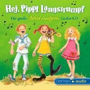 Cover-Bild zu Hej, Pippi Langstrumpf! (1 CD) von Lindgren, Astrid