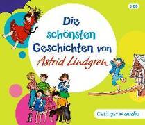 Cover-Bild zu Die schönsten Geschichten von Astrid Lindgren (3CD) von Lindgren, Astrid
