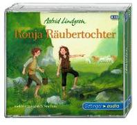 Cover-Bild zu Ronja Räubertochter (5 CD) von Lindgren, Astrid