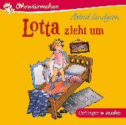 Cover-Bild zu Lotta zieht um (CD) von Lindgren, Astrid