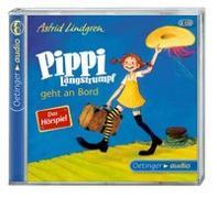 Cover-Bild zu Pippi Langstrumpf geht an Bord - Das Hörspiel (2 CD) von Lindgren, Astrid