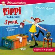 Cover-Bild zu Pippi findet einen Spunk und eine weitere Geschichte (CD) von Lindgren, Astrid