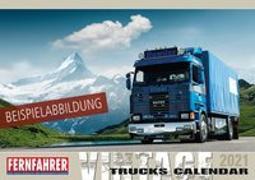 Cover-Bild zu Vintage Trucks Kalender 2021