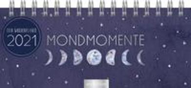Cover-Bild zu Mini-Tischkalender Mondmomente 2021