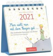 Cover-Bild zu Miniwochenkalender Man sieht nur mit dem Herzen gut ... 2021