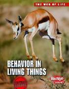 Cover-Bild zu Behavior in Living Things von Bright, Michael