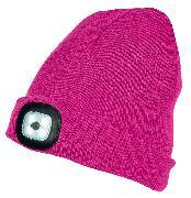 Cover-Bild zu LED-Mütze - pink