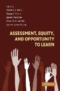 Cover-Bild zu Gee, James Paul (Hrsg.): Assessment Equity Opportunity Learn