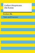 Cover-Bild zu Hauptmann, Gerhart: Die Ratten. Textausgabe mit Kommentar und Materialien