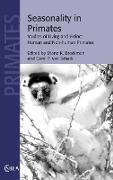 Cover-Bild zu Seasonality in Primates von Brockman, Diane K. (Hrsg.)